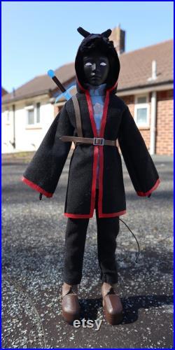 OOAK BadBoyHalo Custom Doll Repaint Dollcentric