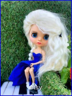 OOAK Custom Blythe, Custom Blythe Doll, OOAK Blythe, Blythe TBL
