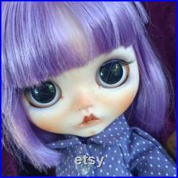 OOAK Custom Blythe Doll Maeve blythe doll custom Blythe Doll custom Blythe art doll