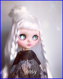 OOAK Custom Blythe Doll Snow Witch