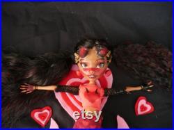 OOAK Devil Doll Custom Sybella Skateheart
