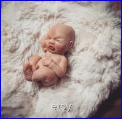 Ooak Baby Boy Sculpture