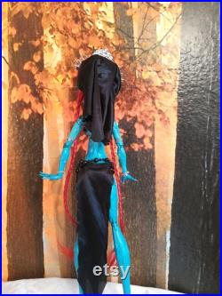 Ooak Monster High doll repaint Aztec goddess