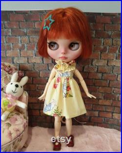 Ooak custom blythe doll