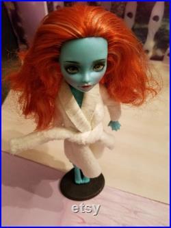 Ooak repaint Monster High doll