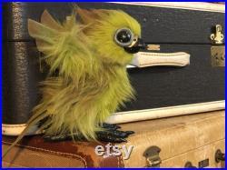 Phoenix Fledgling Chick Poseable Plush Art Doll Pre-Order