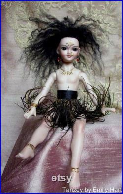 Porcelain Tanzey fairy doll by Emily Hart
