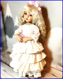 Porcelain doll mold Little Darlings by Dianna Effner