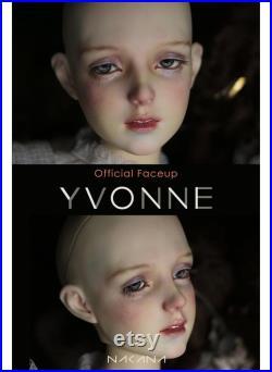 Pre-order Nakana BJD Female doll Yvonne Head Only