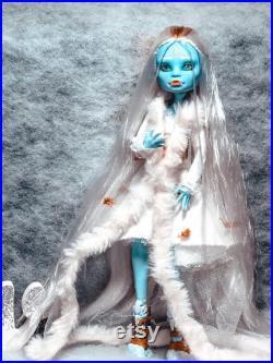 Princess Snow Custom Monster High OOAK Doll