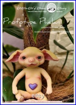 Prototype Phelan Full Body Mini Silicone Baby