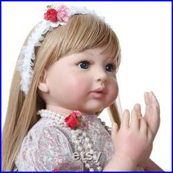 READY TO SHIP reborn baby silicone full body,reborn doll toddler,