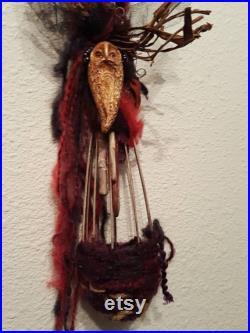 RESERVED Hecate Goddess, Art doll, Creative Art Doll, Solstice, Meditation, Healing Focal Tool, Altar spirit doll, Handcrafted Doll