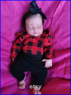 Ready to Go Home Platinum full body silicone baby girl