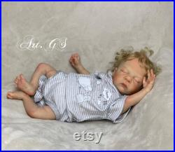 Ready to ship Reborn baby Pip by Cassie Brace