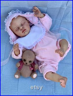 Ready to ship Reborn baby doll Coco by Natali Blick