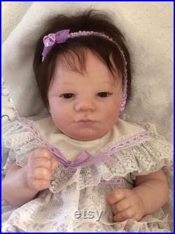 Realborn Reborn Baby Lavender Awake Ready to Ship
