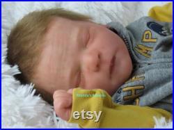 Reborn Baby Chase Asleep, Custom Reborn Babies, Boy or Girl