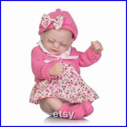Reborn Baby Dolls, Newborn Lifelike Soft Silicone Baby Dolls, Accompany dolls