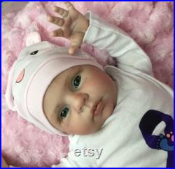 Reborn Baby Girl Honey by Believable Babies for People with Dementia and Alzheimer's- Doll Therapy for Memory Care and for Children