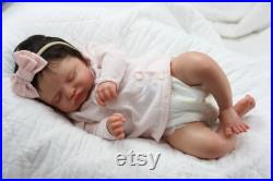 Reborn Baby Rosalie by Olga Auer Beautifully Sculpted with Hair and COA