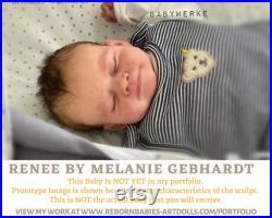 Reborn Doll Custom Limited Edition 500 Renee by Melanie Gebhardt (19 Full Limbs)