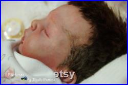 Reborn doll like a baby Catriona by Sabine Hansen and Natali Blick from Blueberries by Jagoda Pietrzak