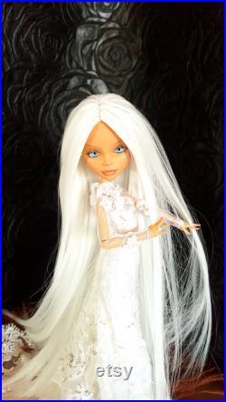 Reserved for I. Ooak Monster High Doll author's OOAK Art Doll hinge gift collection doll OoakMonster Repaint custom OoakDoll bjd Ivanka
