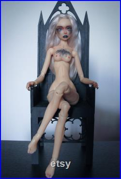 Resin bjd 44cm MSD. Mold Emma. Witch make-up.