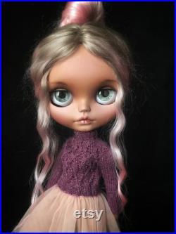 SOLD Blythe. Blythe custom. Blythe Doll. Collectible doll. OOAK. Artdoll. OOAK doll. Custom Blythe doll. Handmadedoll