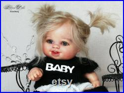 Sale ooak doll, Paola Reina doll, handmade doll, doll for ooak, little doll, art doll, collectible doll, gift doll, doll for baby