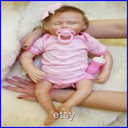Simulation baby baby real-life soft silicone baby vinyl doll regenerated doll