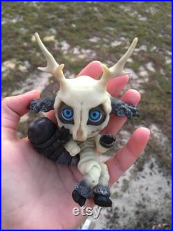 Skullith A Cute Cryptid Ball Joint Doll