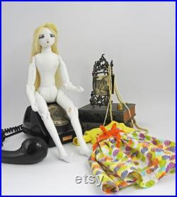 Sophie handmade, fabric doll, ooak
