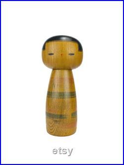 Sosaku Kokeshi by Sanpei Yamanaka Creative Kokeshi from Japan Rare Art doll Japanese Vintage doll Japanese antiques