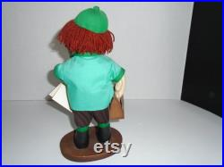 The Handyman Poseable Soft texture 10 Tall Doll by Gloria B. Weischadle-1992