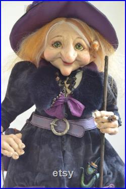 The Witch, Lizardella. Interior doll by Anastasiya Adamovich