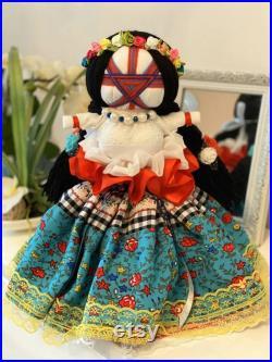 Ukrainian Doll Motanka, Interior Dolls, Handmade Ethnic Doll, Handmade Textile Doll, Interior Rag Doll, Unique Doll