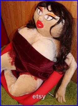 Valentina Girl Florina Life Size Textile Doll Hyper Model