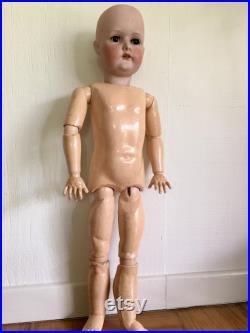 Victorian Antique German Bisque Doll 28 C.M. Bergmann Waltershausen 1916 Victorian Doll Edwardian Doll