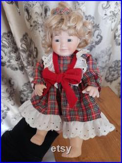 Vintage Portelain Doll