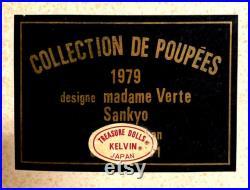 Vintage Rare Sankyo 1979 Collection De Poupees le P tit Pierrot KELVIN NIB