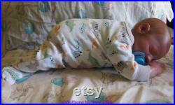 Wolfsong Nursery Reborn Rhys, BB RB Steven Asleep TWIN