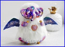 art doll ooak creepy elephant esoteric mystical fantasy creature