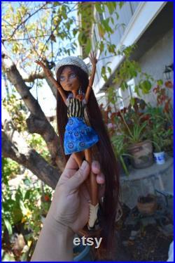 ooak doll for repaint monster high dolls for ooak monster high doll repainted doll OOAK art dolls collector's dolls artist dolls for ooak
