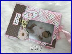 reborn baby Ava by Cassie Brace, reborn baby girl, Cassie Brace reborn dolls, fakes babies, dolls, therapeutic doll, vinyl baby dolls, toys